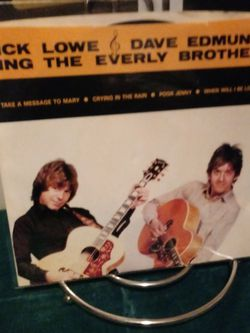 "Vinyl 45 Nick Lowe & Dave Edmunds Sing the Everly Brothers ""Take a message to Mary"", ""Crying in the Rain"", ""Poor Jenny"" & ""When will I Be Loved"" for Sale in Commerce,  CA"
