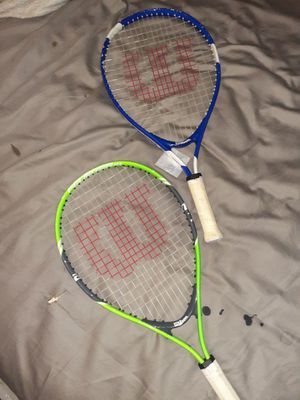 Wilson tennis rackets for Sale in Bonney Lake, WA