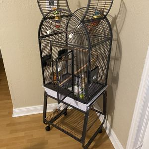 Large Metal Bird Cage for Sale in Miami, FL