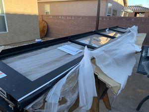 16x8 showroom bronze glass garage door for Sale in Las Vegas, NV