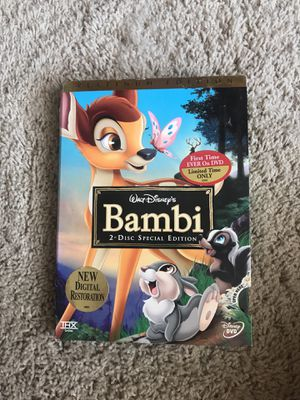 Bambi: 2-Disc special edition for Sale in San Diego, CA