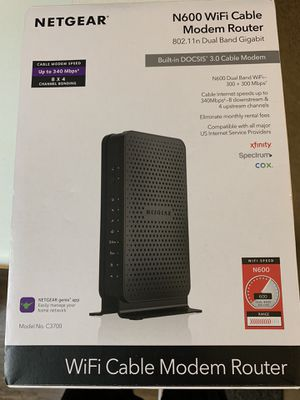 WiFi Cable Modem Router for Sale in Naperville, IL