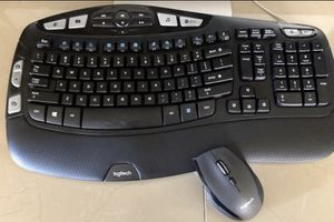NEW LogiComfort Wireless Combo Keyboard and mouse for Sale in Avondale, AZ