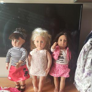 Real American Girl dolls for Sale in Newton, KS