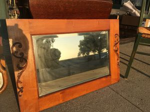 Antique mirror with carvings for Sale in Whittier, CA