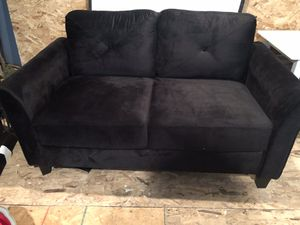 Black couch for Sale in Montville, OH