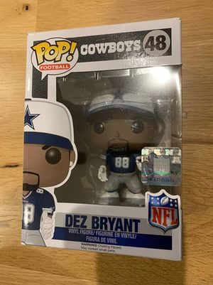 Dez Bryant Pop Funko vinyl figure! Cowboys! Figure 48 for Sale in Apex, NC