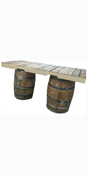 Rustic whiskey wood barrels 4r deco restaurant sports bar smoke shop tiki bar patio furniture for Sale in Miami Springs, FL