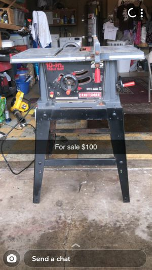 Craftsman Table Saw for Sale in Ceres, CA