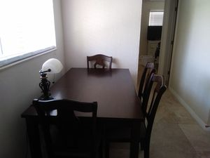 Kitchen table set 6 chairs for Sale in LAUD BY SEA, FL