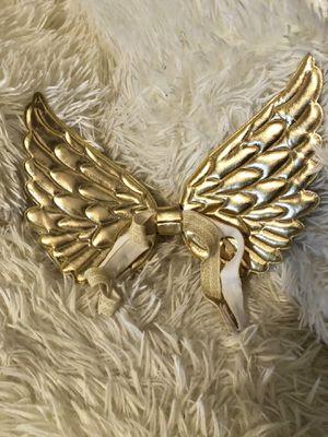 Gold baby angel wings for Sale in Atlanta, GA