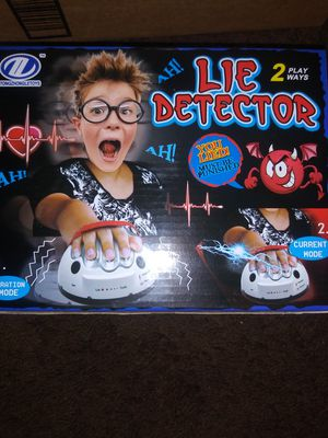 Kids game lie detector. for Sale in San Jose, CA