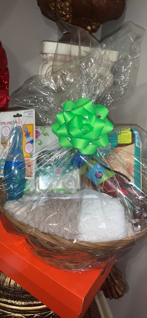 Handmade Baby gift basket for Sale in Catonsville, MD