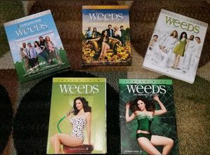 Weeds Complete Seasons 1-5 DVD TV Series Collection Season 1 2 3 4 5 for Sale in Lutz, FL