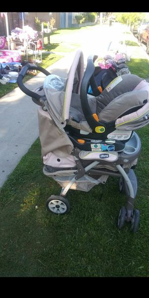 CHICCO STROLLER W/ CAR SEAT/BASE!!! $50 OBO!!! for Sale in Anaheim, CA