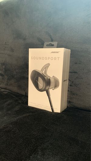 Bose •SoundSport• Wireless•Bluetooth New never open or used for Sale in Kent, WA
