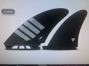 Futures / X/ Large Split Keel Quad - Pivot back fins for Sale in Mission Viejo, CA