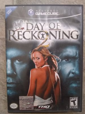 Wwe Day Of Reckoning 2 Nintendo Gamecube for Sale in Fresno, CA