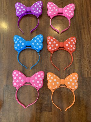 Minnie Mouse light up ears- never used for Sale in Queen Creek, AZ