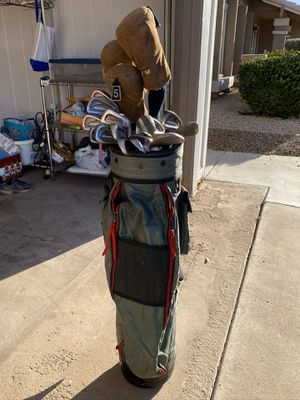 Golf Clubs and bag in good condition. for Sale in Scottsdale, AZ