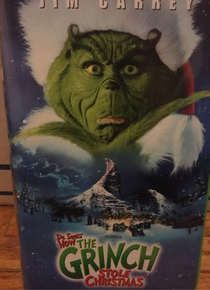 VHS MOVIE - GRINCH stole XMAS - for Sale in Lockport, IL