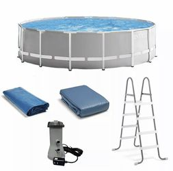 New Intex 15ft x 48in Prism Above Ground Swimming Pool Set for Sale in Conyers,  GA