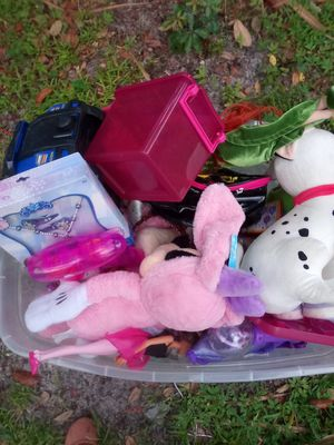 Toys and teddy bear for Sale in Orlando, FL