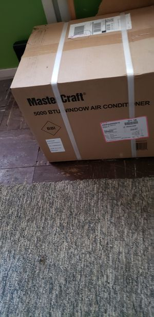 5000 btu window ac unit. never used, unopened. for Sale in Rocky River, OH