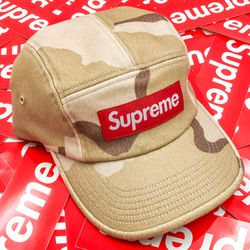 Supreme Wool Camp Cap Desert Camo (FW20) DS for Sale in Bellevue,  WA