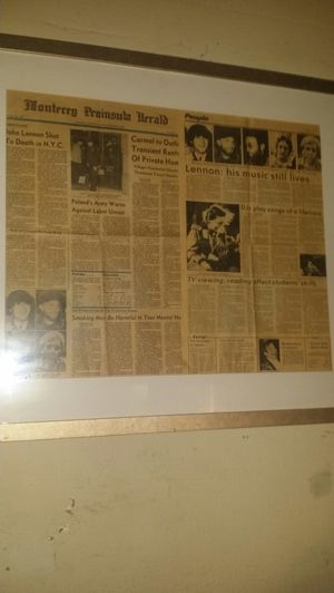 John lennon articles for Sale in Las Vegas, NV