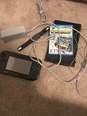 Black Nintendo Wii U 1 Game & 1 Controller for Sale in Tacoma, WA