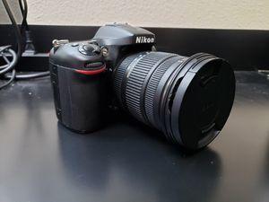 Nikon d7100 24.1 megapixel Digital SLR DSLR Camera with sigma 17-50 f1.8 lens for Sale in Victorville, CA
