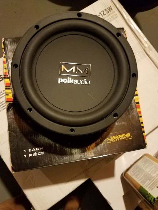 Polk audio 8 inch subwoofer