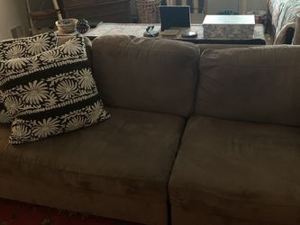 Small Brown Couch for Sale in Laurel,  MD