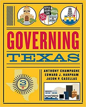 Governing Texas (Third Edition) 3rd Edition ebook PDF for Sale in Los Angeles, CA