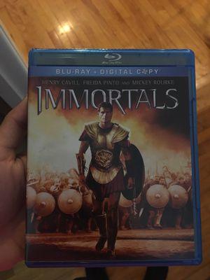 IMMORTALS DVD for Sale in Northbridge, MA