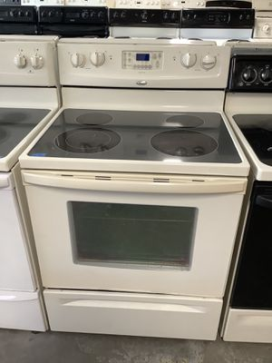 Preowned Glass Top Whirlpool Affordable Stove Kitchen Appliance for Sale in Tampa, FL