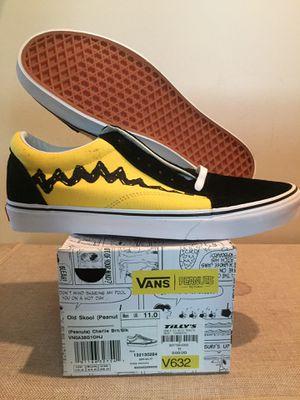 """Vans Old Skool Peanuts """"Charlie Brown"""" Size 11 for Sale in Los Angeles, CA"""