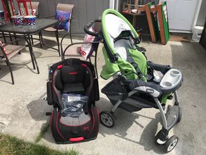 Chicco stroller and safety first car seat for Sale in Granite Falls, WA