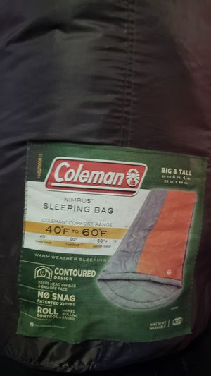 coleman sleeping bag for Sale in New Boston, IL