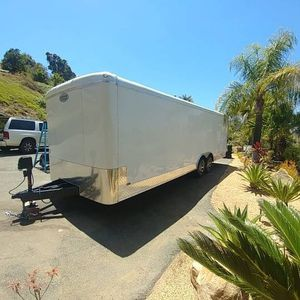 """Continental (Forest River) Tail Wind Special Enclosed Trailer 24.5 X 8.5 X 6' 10"""" *2020* for Sale in Bonsall, CA"""