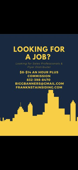 Jobs for Sale in Houston, TX