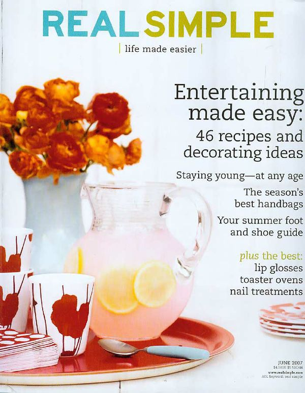 Over 60 magazines to give away (Better Homes & Garden, Sunset, parenting, Real Simple, etc.