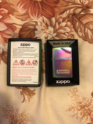 Supreme Zippo Iridescent for Sale in Garden Grove, CA
