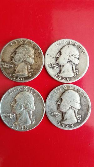 Silver quarters for Sale in San Bernardino, CA