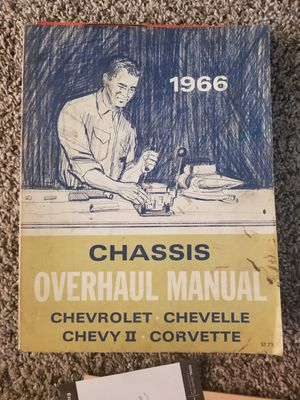 1966 Chevrolet chassis Overhaul manual for Sale in Lebanon, PA
