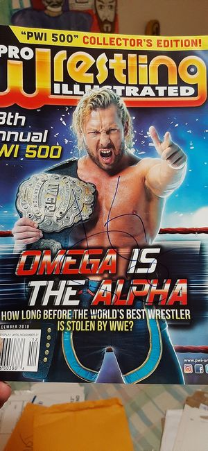 KENNY OMEGA AUTOGRAPH MAGAZINE for Sale in South Gate, CA