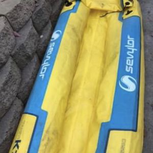 Like New! Inflatable Kayak for Sale in Escondido, CA