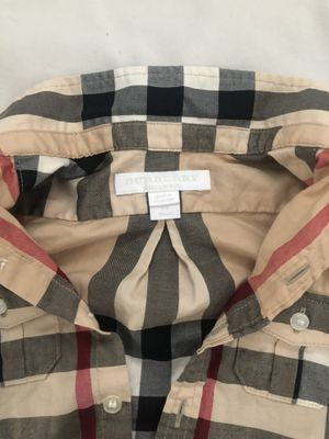 Burberry Baby Boy Clothes - Pants and Shirt - 6 mos for Sale in Imperial Beach, CA
