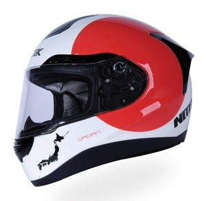 New red and white dot motorcycle helmet $100 for Sale in Whittier, CA